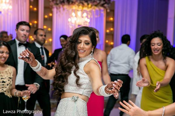 indian bride,indian wedding reception,dance