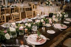 Indian wedding table ideas