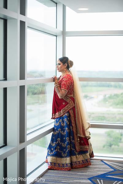 Maharani looking through the window capture