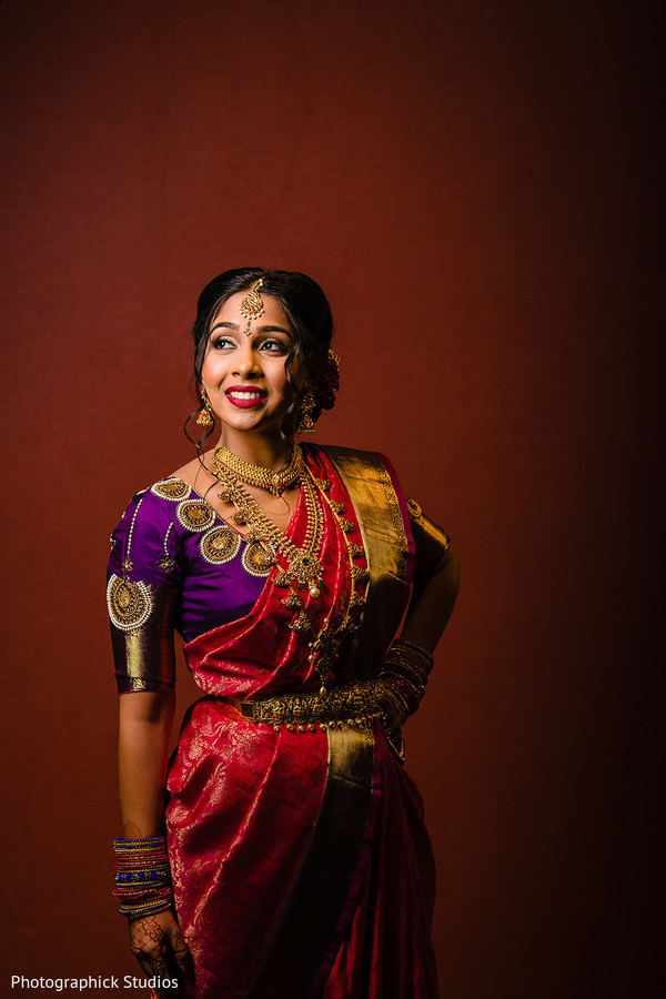 indian bride,indian bridal ceremony fashion,bridal jewelry,bridal hair and makeup