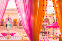 Dreamy capture of the Indian wedding decor