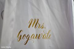 Elegan Maharanis personalized robe.
