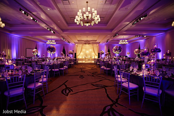 indian wedding reception decor,stage,flowers,tables