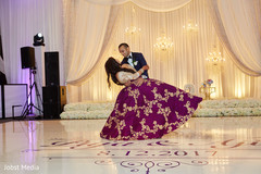 Marvelous Indian newly wed dance performance.