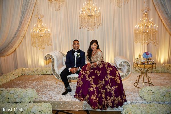 indian wedding reception fashion,indian bride,indian wedding reception stage,indian groom