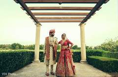 Amazing capture of Indian newlyweds after the ceremony