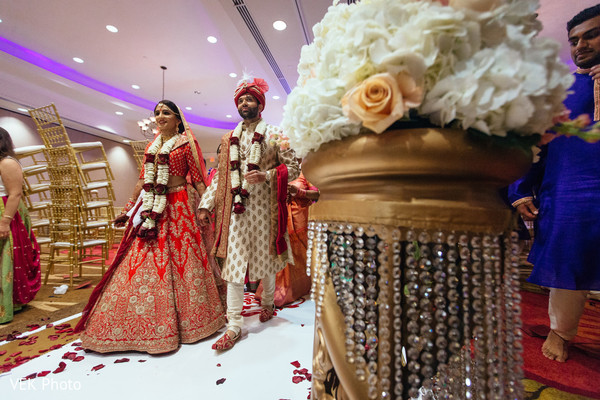 indian wedding,floral arrangement,maharani,venue
