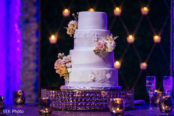 indian wedding,cake,venue,reception