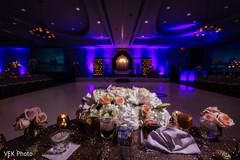 Indian wedding floral arrangements capture