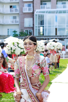 Lovely Indian bridesmaid capture.