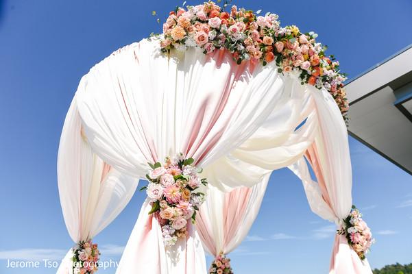 Majestic Indian wedding venue decor