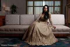Elegant Indian bride capture.