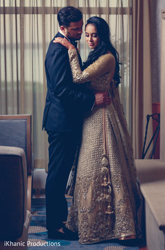 Perfect Indian bride and groom photo.