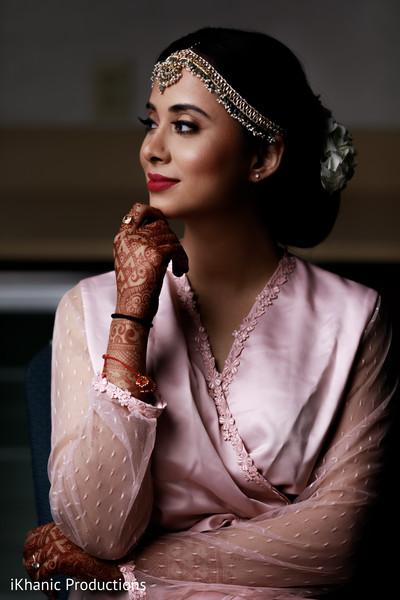 Perfect indian bridal makeup and hair.