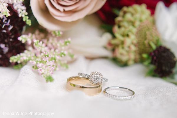 Stunning capture of Indian wedding rings.