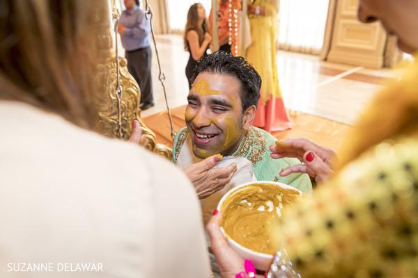 Fun haldi ceremony