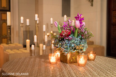 Exotic indian wedding table centerpieces