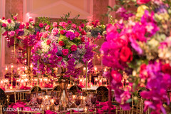 Mesmerizing indian wedding floral centerpieces