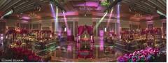 Amazing indian wedding venue reception set up