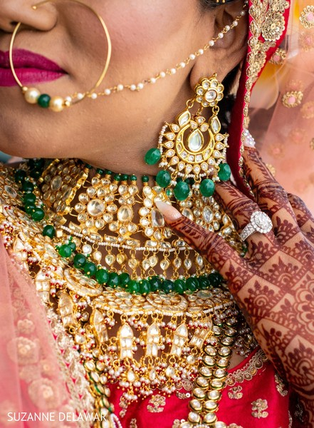 Marvelous indian bridal jewelry set