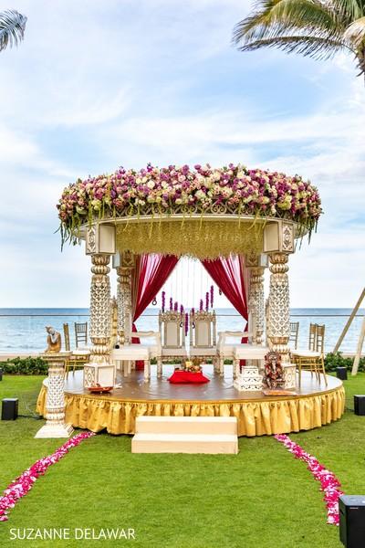 Inspiring indian wedding mandap
