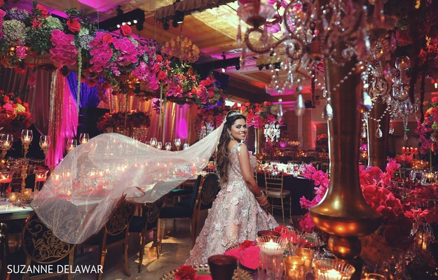 bridal fashion,indian bride fashion,floral and decor