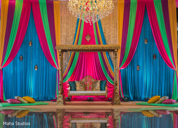 indian wedding,decor,venue,stage
