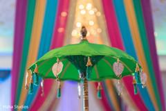 Colorful little details at the host venue