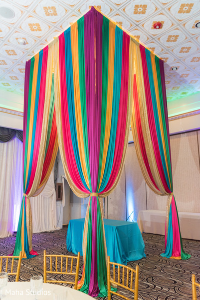 Details of the stunning venue decor