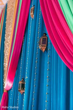 Beautiful colorful decoration details