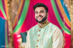 Raja during the pre wedding photo shoot