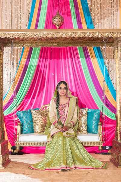 Stunning maharani posing for the photo shoot