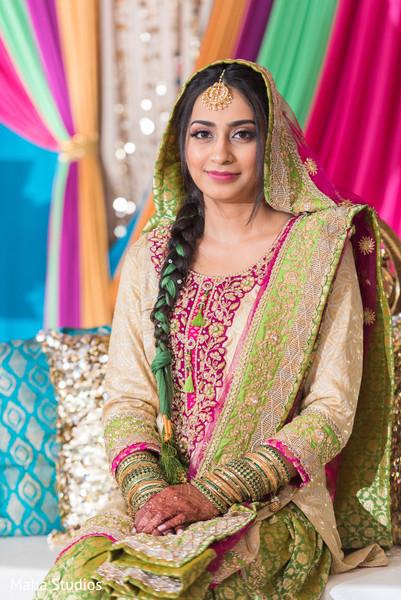 Dazzling maharani wearing the tikka