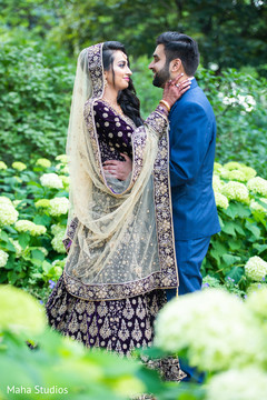 Outdoor themed Indian couple's photo session