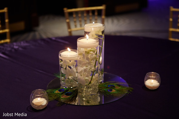 Indian wedding table centerpieces