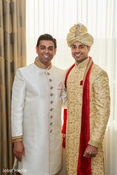 Handsome indian groom