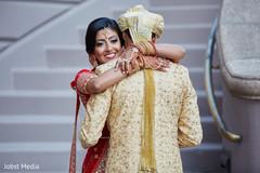 Heartwarming indian newlyweds first look