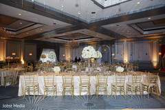 Indian wedding reception majestic decor