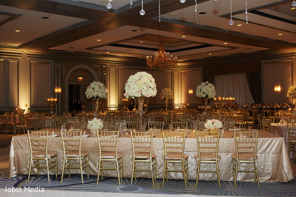Fabulous indian wedding reception decor