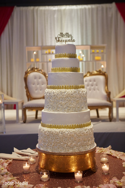 Indian wedding tier cake