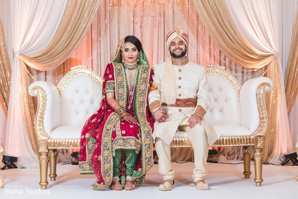 indian wedding,newlyweds,maharani,raja