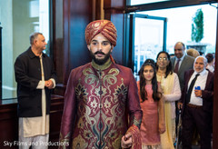 Indian groom ready to get married