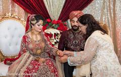 Lovely pakistani wedding ceremony