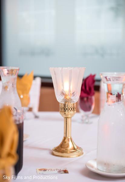 Sweet indian wedding table decor