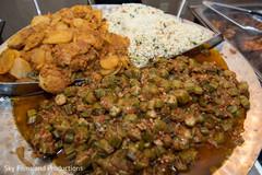 Delicious indian wedding food
