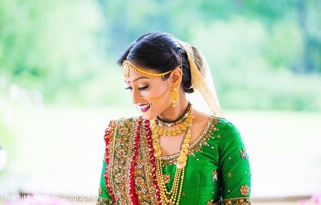 indian bride,maharani,makeup,details