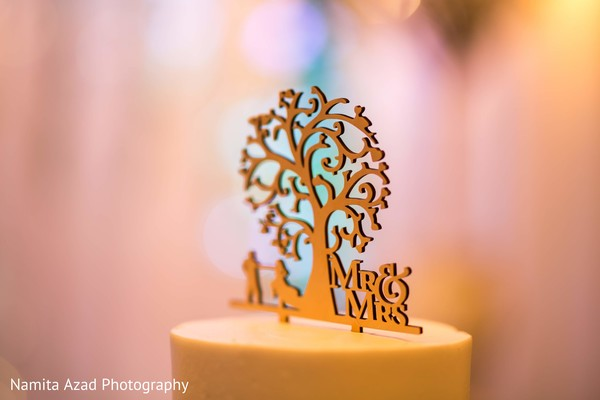 Lovely little detail at the Indian wedding