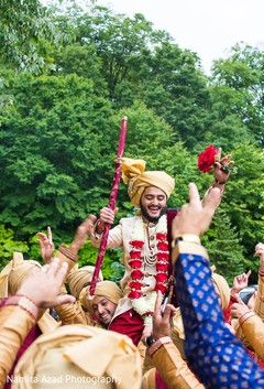 Baraat procession capture