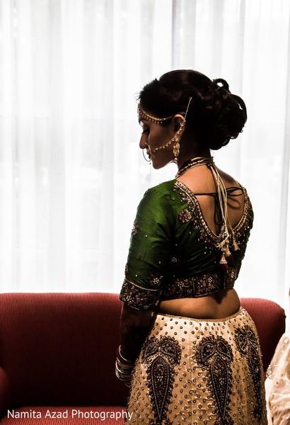 Beautiful maharani before the ceremony