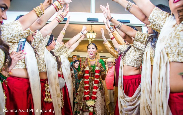 indian wedding,maharani,raja,bridesmaids